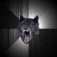 Insanity wolf Meme template