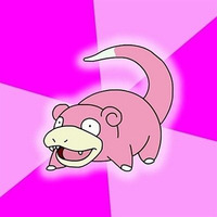 Slowpoke Meme template