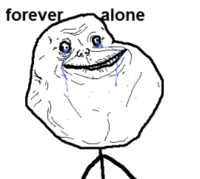 Forever Alone template