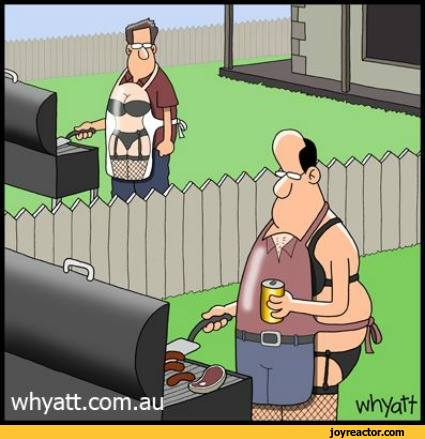 comics,funny comics & strips, cartoons,art,beautiful pictures,geek,cartoon,barbecue,apron