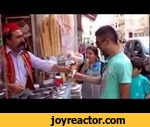 Turkish Ice Cream Salesman Works His Magic,Comedy,,The best ice cream vendor you'll see today comes from Istanbul, Turkey. This is how he serves ice creamJoin the group for free publicationsJoke 2013, # video, laid up, # fun, country Russia, cutting this week, best, video, # Fail, compilation, fail