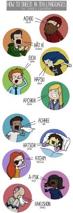HOW TO SNEEZE IN TEN LANGUAGESBY JANES CHAPNAN
