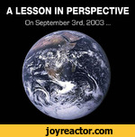 A LESSON IN PERSPECTIVEGn September 3rd, 2003 ...