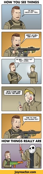 The Reality of Call of Duty Multiplayer