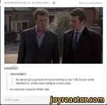 lordofthejohnlock slumber-party... QSource.channybatchIumos5001:channvbatch:So we've got a picture of House talking to the 12th Doctor while Sherlock is in the back trying to sneak awayso basically a typical british day11,291 notes