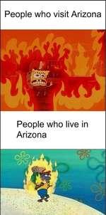 People who visit ArizonaPeople who live in Arizona