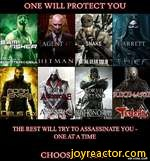 ONE WILL PROTECT YOUAGENT ^SNAKED/GARRETT|tfORVO|IfcTTAN]I HDRM  JENSEllTHE REST WILL TRY TO ASSASSINATE YOU ONE AT A TIMECHOOSE WISELY
