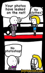 Your photos have leaked on the net!