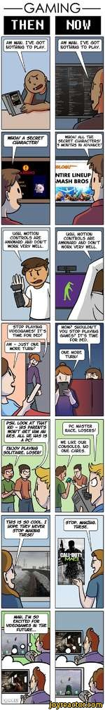 Gaming then and now