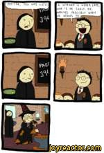 Potter is late