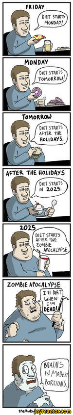 MondaySTARTSDiettomorrow!TOMORROIODiet starts after THtHolidays.after the holidaystheAukwardyeti.com