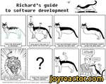 Richards guide to software developmentHOW THE SOPTWAPE IS OESISNEO.// HOW THE SOPTWAPE IS AOVEPTlSEO.80%14%HOW MUCH TIME HAS TO 6E SPENT ON EACH PAPT.?WHAT THE CUSTOM6P PEALty WANTEO.HOW THE SOPTWAPE LOOliS 8EFOP THE 8ETA TEST.HOW THE SOPTWAPE LOOKS APTEP THE SETA TEST.Sandra and Woo by Oliver