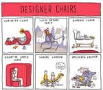 DESIGNER CHAIRSCURIOSITY CHAIRaNEGATIVE SPACE CHAIR