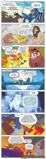 Realistic lion king