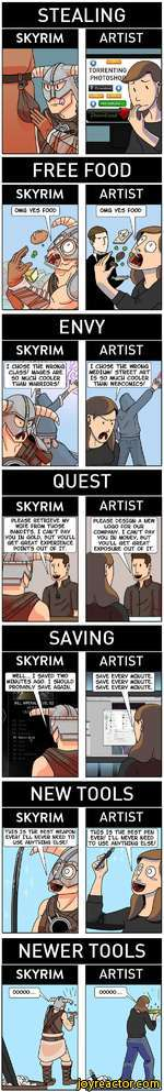 How Skyrim Perfectly Describes the Life of an Artist