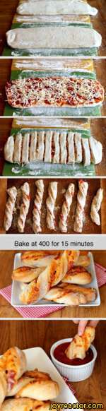 Bake at 400 for 15 minutes