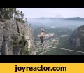 World Record Free Solo Insane Slacklining! , ,Entertainment,animals,fun,,fight,,cats,,,dogs,
