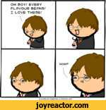 OH BOY/ EVERY FLAVOUR BEANS/ I LOVE THESE/  Cyanideand HappinessMOM?V Explosm.net