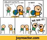 OKAY, THROW THE DART AND WHEREVER IT LAND9, WELL GO THERE!ALRIGHT, LET9 DO TH19!ACyanideand Happiness Explosm.net