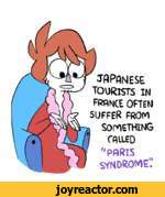 "JAPANESETOURISTS IN FRANCE OFTEN SUFFER FROMSOMETHINGCALLED "" PARIS SYNDROME'.'"