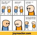 MAN... I WISH I COULD LEARN HOW TO LAST LONGER IN BED.HAVE YOU TRIED DEPRESSION?I SOMETIMES LAST DAYS IN BED.I'LL JUST THINK BACK ON THIS CONVERSATION NEXT TIME I'M ABOUT TO CUM.*~|Cyanide and Happiness Explosm.netr1
