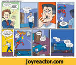 AMAZING SPIDER POWERS6-GET OUT OF HERE, YOU MENACE'. P NOPE.' NOPE.'I NOPE/JTHATspider\--B,;1vENSMEHAVE--^,^SPIDERWWyV.NERDRA6ECOMIC.COM*$%*!WHERE'!? HE GO?!2016 ANDY