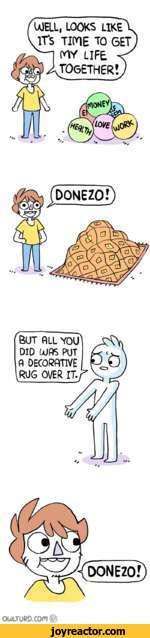 BUT ALL YOU DID UJ AS PUT A DECORATIVE RUG OVER IT.*OOJLTORD.COM