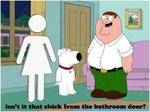 isn't it that chick from the bathroom door?