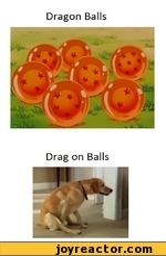 Dragon Balls - drag on balls