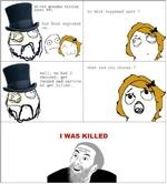 I WAS KILLED