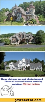 These pictures are not photoshopped These all are real houses made by architect Michael Jantzen