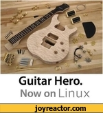 Guitar Hero. Now on Linux