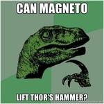 can magneto left thor's hammer?
