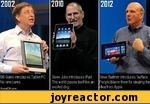 Bill Gates introduces Tablet PC No one cares.KuvatON.comSteve Jobs introduces iPad. The world pisses itself like an excited dog.Steve Ballmer introduces Surface. People blarne them for stealing the idea from Apple.