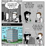 """PROLIFIC PEN COMICS """"Office patient zemtNSTAGRAM@PROLIflCPENCOMICS 1'W PROLIflCPENCOMlCS.TUMBLR.COM"""