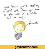 you know you're reading a good book when you have to stop once in a while just to say fuuuuck
