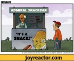 Admiral Snackbar - It's a snack. EXTRALIFE BY SCOTT JOHNSON, IDEA BY MARK TURPIN - ©2010 ALL RIGHTS RESERVED - MyEXTRALlFE.COM