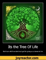 Its the Tree Of LifeBut it can wilt if we dont trust god for giving us a chance to liveDe motivation.us