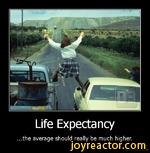 Life Expectancy...the average should really be much higher.De motivation.us