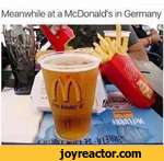 Meanwhile at a McDonald's in Germany