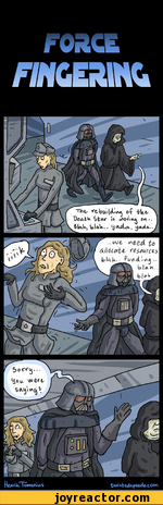 FORCEERMC darth vader Star Wars comics funny