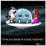I see you going on a long, long trip.2019 CES www.grayzonecomics.com
