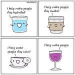 I help people stay 1!/ help people stay awake!\L *I help people