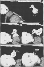 Origin of duck face