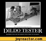 Dildo tester another coola job the robots stole from humans