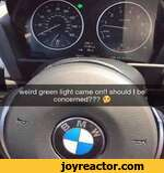 weird green light came on!! should I beconcerned???
