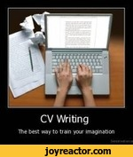 CV WritingThe best way to train your imagination