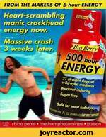 FROM THE MAKERS OF 5-hour ENERGYrlrhino penis  methamphetamines  poison