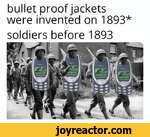 bullet proof jackets were invented on 1893*soldiers before 1893