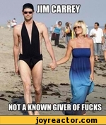 jim carrey not a known giver of fucks